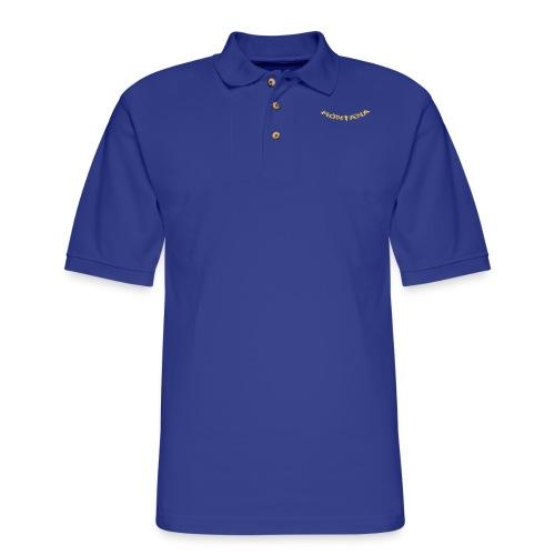 Montana Gold - Men's Pique Polo Shirt
