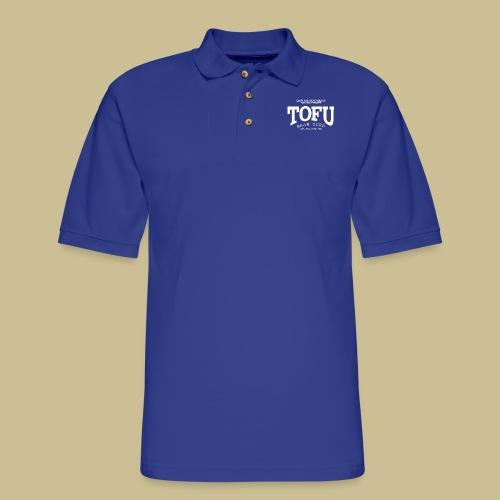 Tofu (white) - Men's Pique Polo Shirt