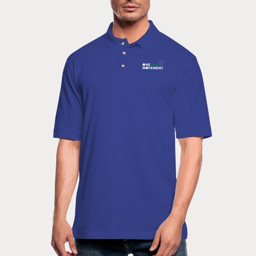 One Man Movement - Men's Pique Polo Shirt