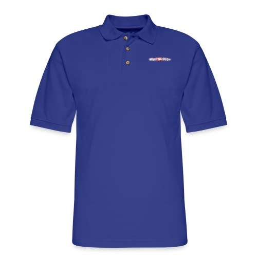 FoodTube Waves - Men's Pique Polo Shirt
