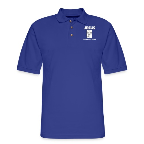 Jesus Is My Everything - Men's Pique Polo Shirt