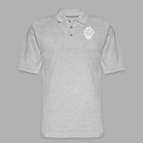 All Saints Hops - Men's Pique Polo Shirt