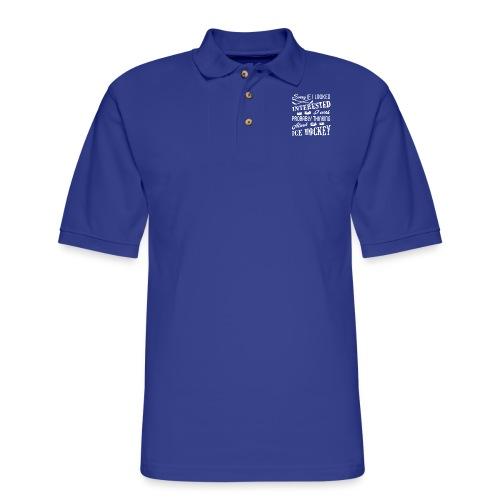 Ice Hockey - Men's Pique Polo Shirt