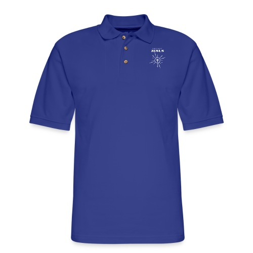 What the world needs now? Jesus! - Men's Pique Polo Shirt
