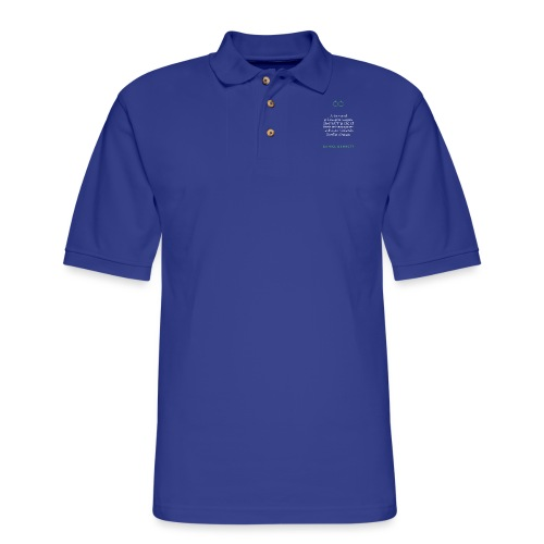 T Shirt Quote Artists and philosophers agree Da - Men's Pique Polo Shirt