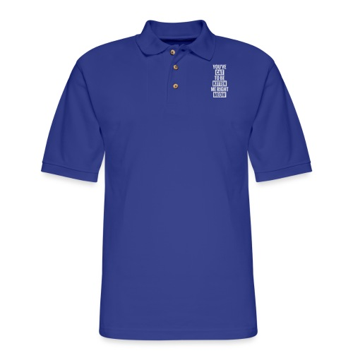 Cat to be kitten me - Men's Pique Polo Shirt