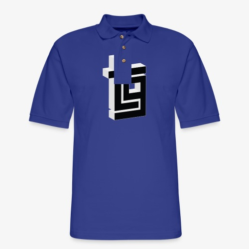 ThrillGeek TG Logo Shirt - Men's Pique Polo Shirt