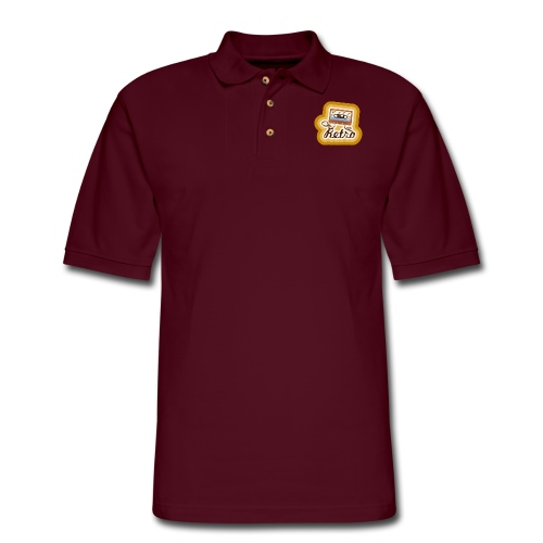 Retro-Cassette - Men's Pique Polo Shirt