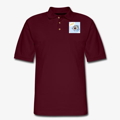 the smile - Men's Pique Polo Shirt