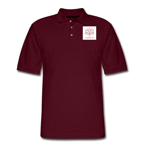 c150 logo - Men's Pique Polo Shirt