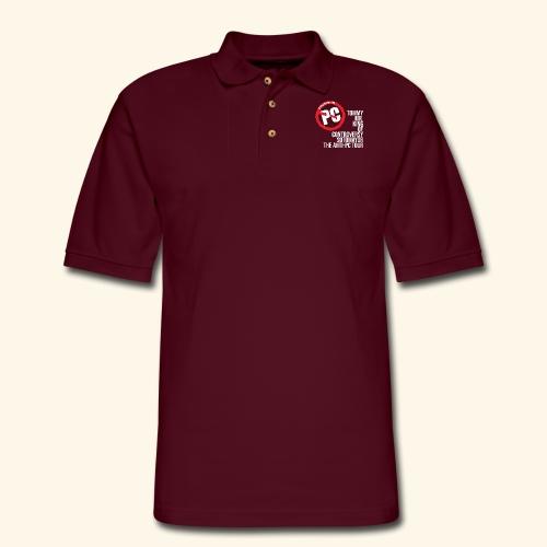 Anti PC Tour - Men's Pique Polo Shirt