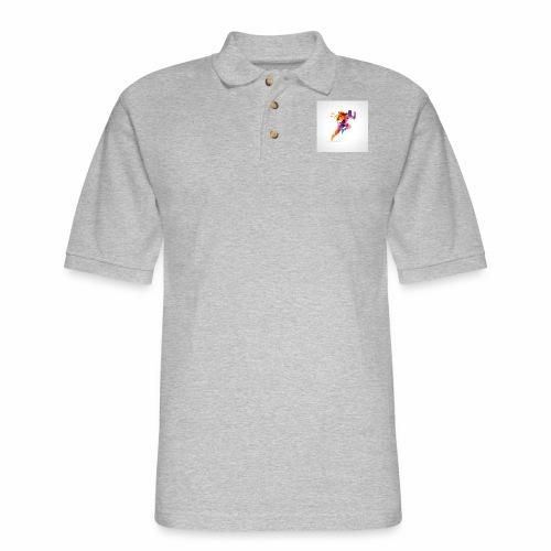 Running - Men's Pique Polo Shirt