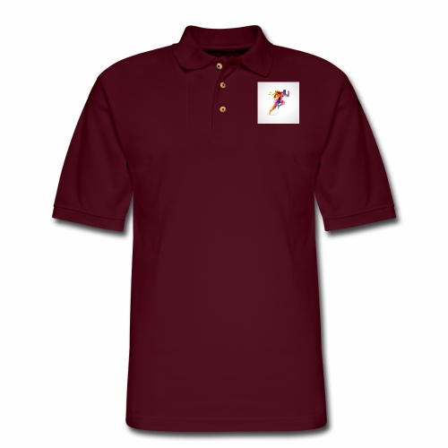 Running - Men's Pique Polo Shirt