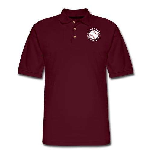 Fantasy Baseball Champion - Men's Pique Polo Shirt