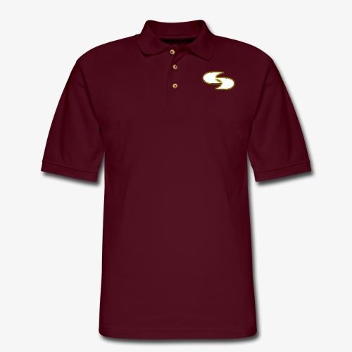 Official Strive Logo - Men's Pique Polo Shirt