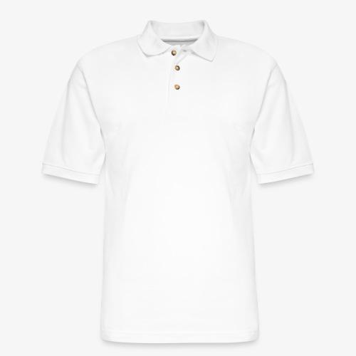 official white - Men's Pique Polo Shirt