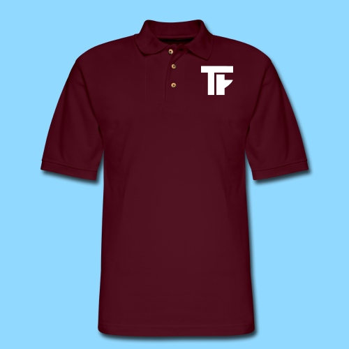 Team Friction Monogram Logo Patch - Men's Pique Polo Shirt