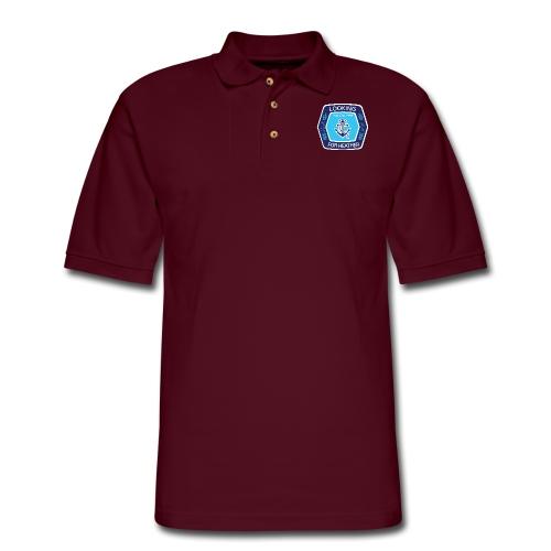 Looking For Heather - Stock Logo - Men's Pique Polo Shirt