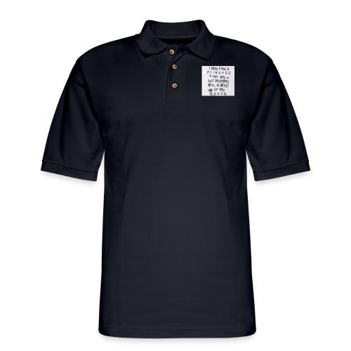 my princess - Men's Pique Polo Shirt