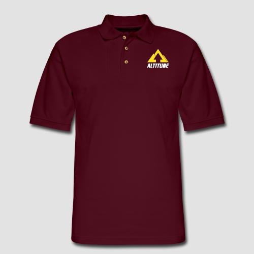 Empire Collection - Yellow - Men's Pique Polo Shirt