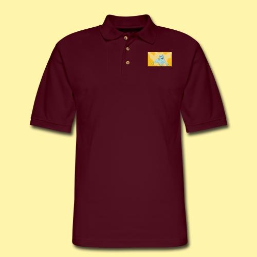 dot1 - Men's Pique Polo Shirt