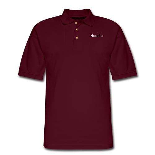 Hoodie Hoodie White - Men's Pique Polo Shirt