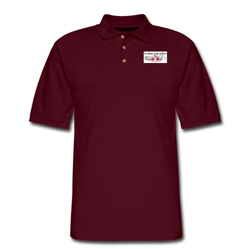 passionfloral - Men's Pique Polo Shirt