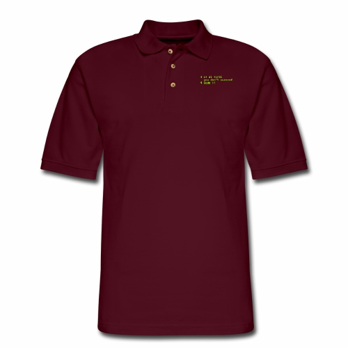 If at first you don't succeed; sudo !! - Men's Pique Polo Shirt
