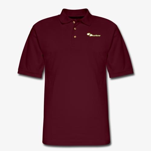 Strive Written Logo - Men's Pique Polo Shirt