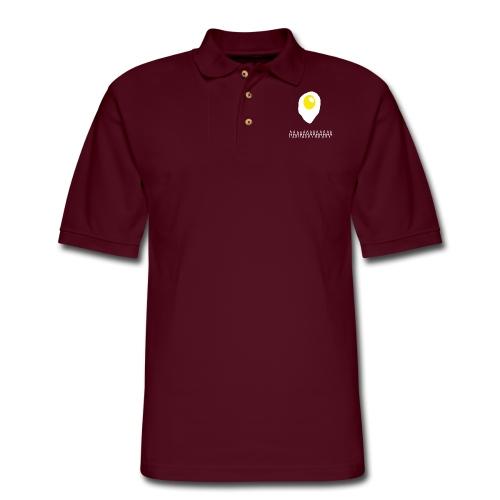 Existential Fried Egg - Men's Pique Polo Shirt