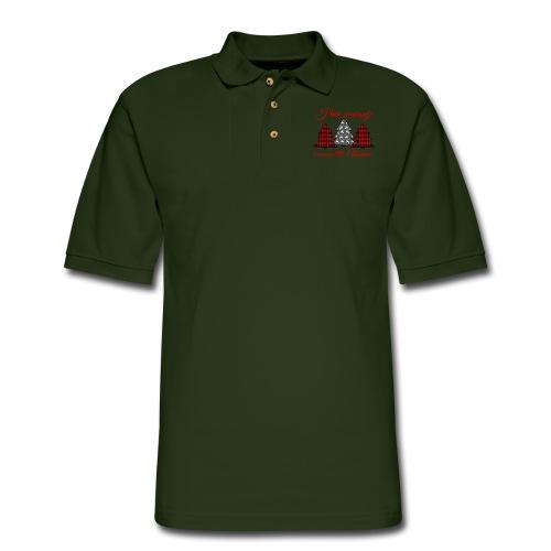 Merry Little Christmas - Men's Pique Polo Shirt