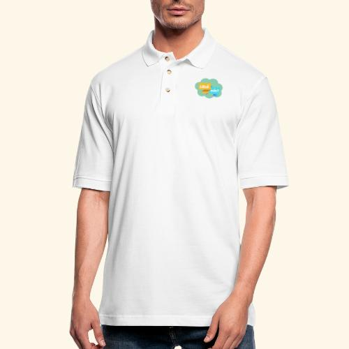 ¿Qué más? - Men's Pique Polo Shirt