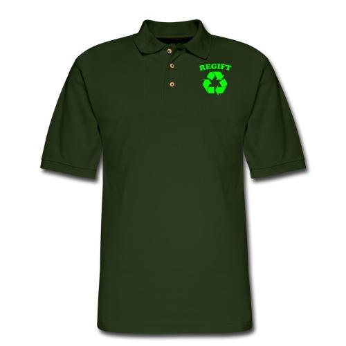 Regift - Men's Pique Polo Shirt
