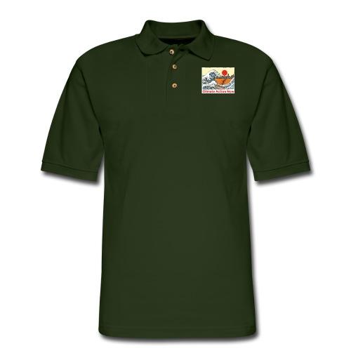 T shirt Wave - Men's Pique Polo Shirt