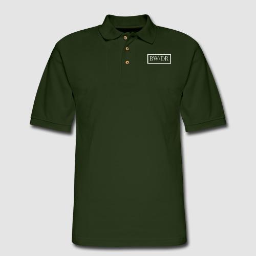 BW/DR Logo - Men's Pique Polo Shirt