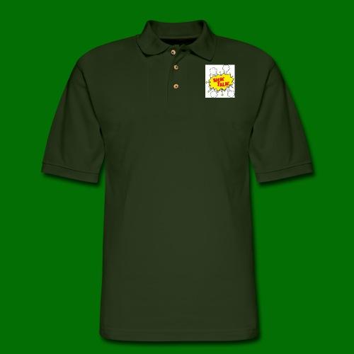 Sick Talk - Men's Pique Polo Shirt