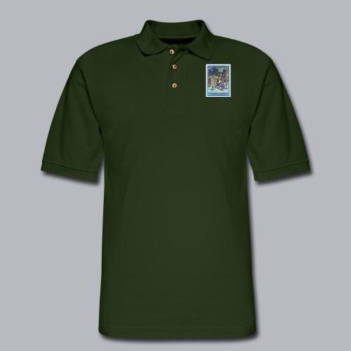 20th & Yesler - Men's Pique Polo Shirt