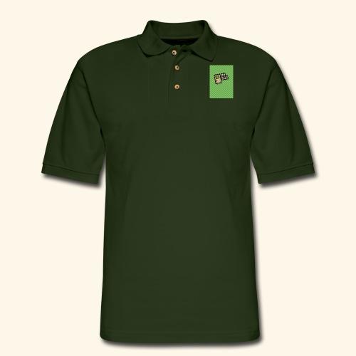 oh boy handy - Men's Pique Polo Shirt