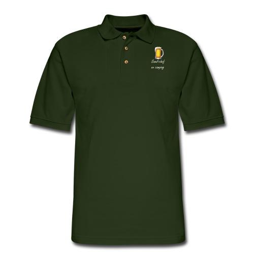 Camping apron - Men's Pique Polo Shirt