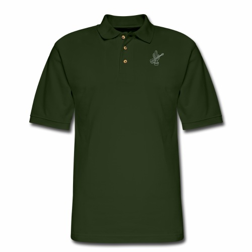 cactussolonofill - Men's Pique Polo Shirt