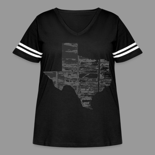 Real Texas - Women's Curvy Vintage Sport T-Shirt