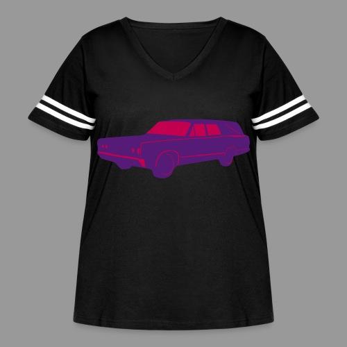 Hearse - Women's Curvy Vintage Sport T-Shirt