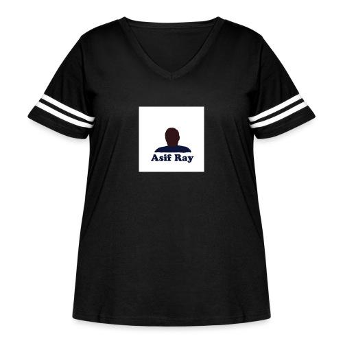 Untitled 3 - Women's Curvy Vintage Sport T-Shirt