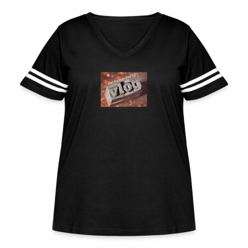 Vlog - Women's Curvy Vintage Sport T-Shirt