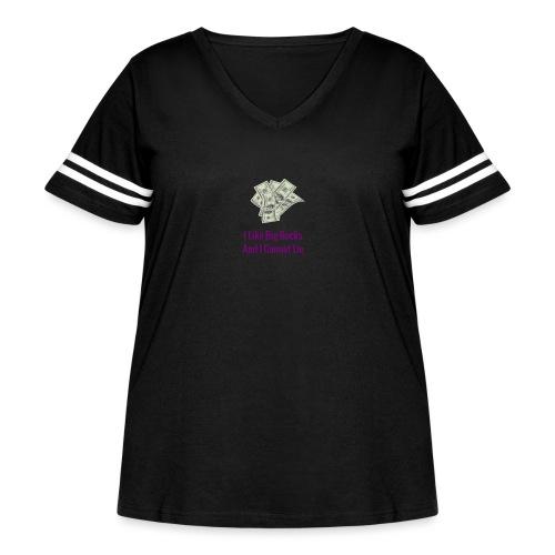 Baby Got Back Parody - Women's Curvy Vintage Sport T-Shirt