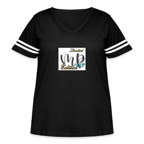 VIP Limited Edition Merch - Women's Curvy Vintage Sport T-Shirt