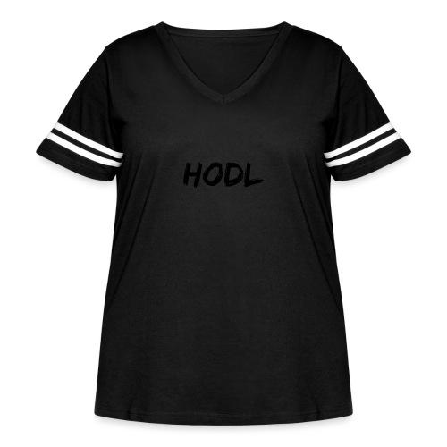 HODL - Women's Curvy Vintage Sport T-Shirt