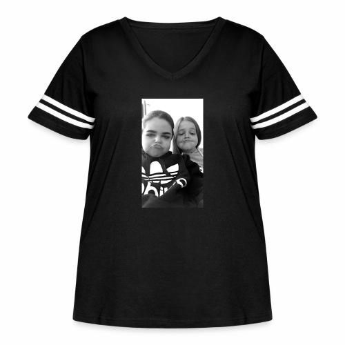 IMG 0422 - Women's Curvy Vintage Sport T-Shirt