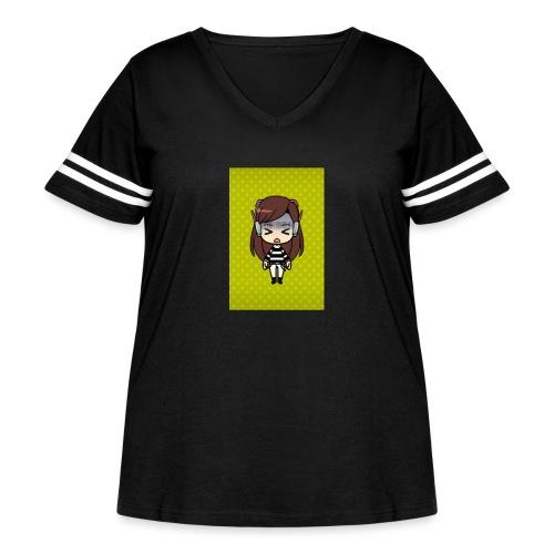 Kids t shirt - Women's Curvy Vintage Sport T-Shirt