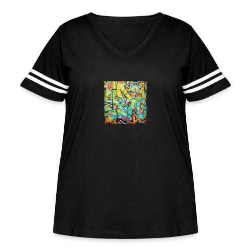 13686958_722663864538486_1595824787_n - Women's Curvy Vintage Sport T-Shirt